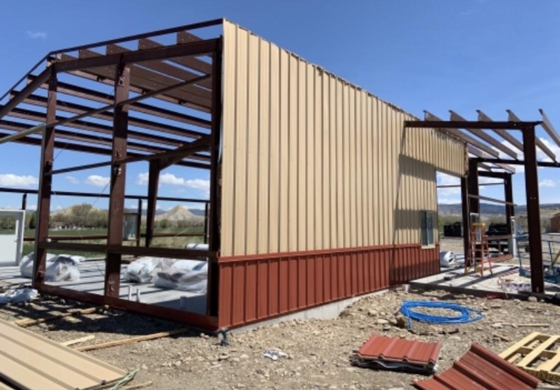 Building a metal building