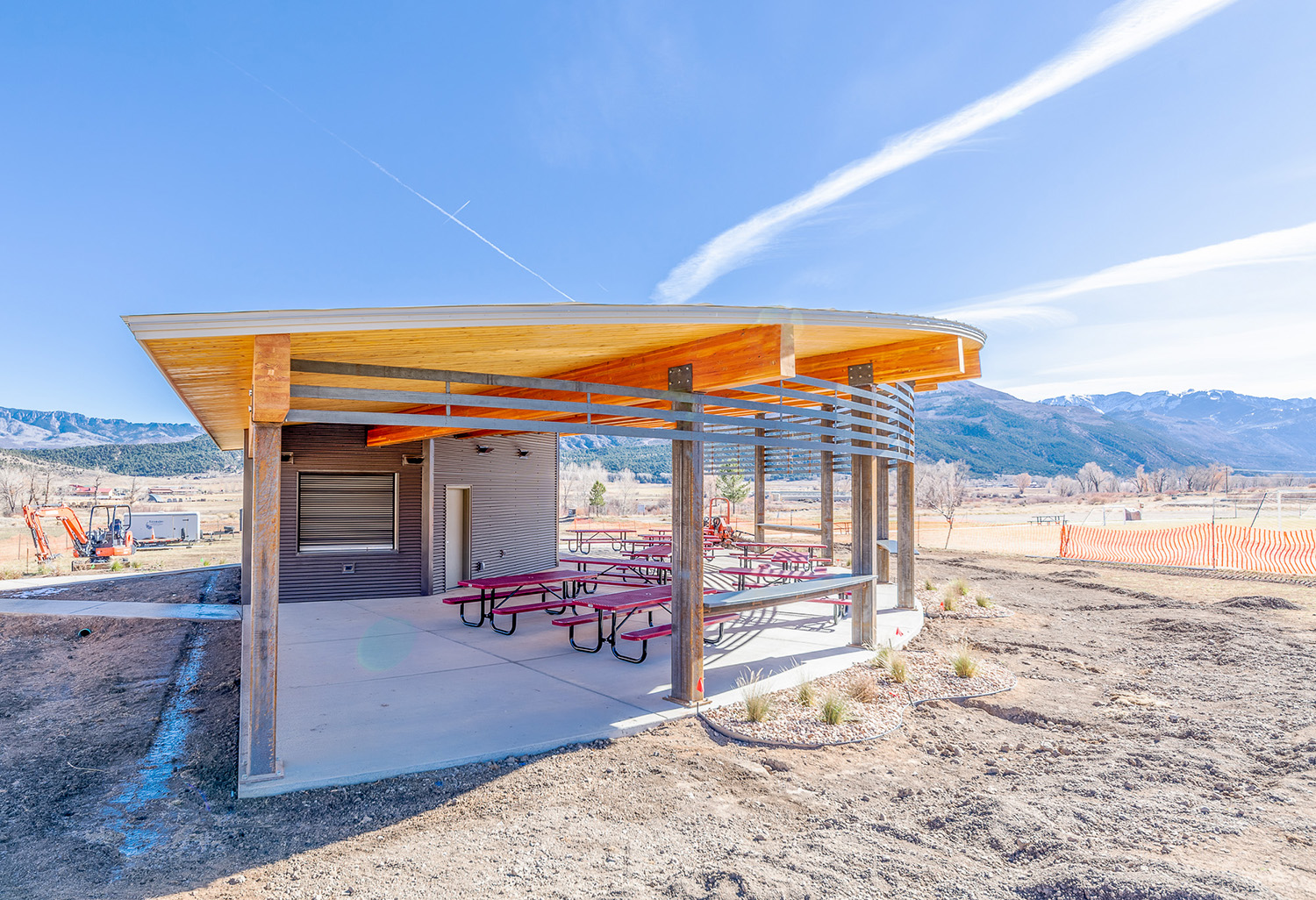 Athletic Pavilion in Ridgway, CO